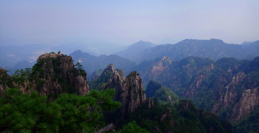 The Yellow Mountains or Huangshan