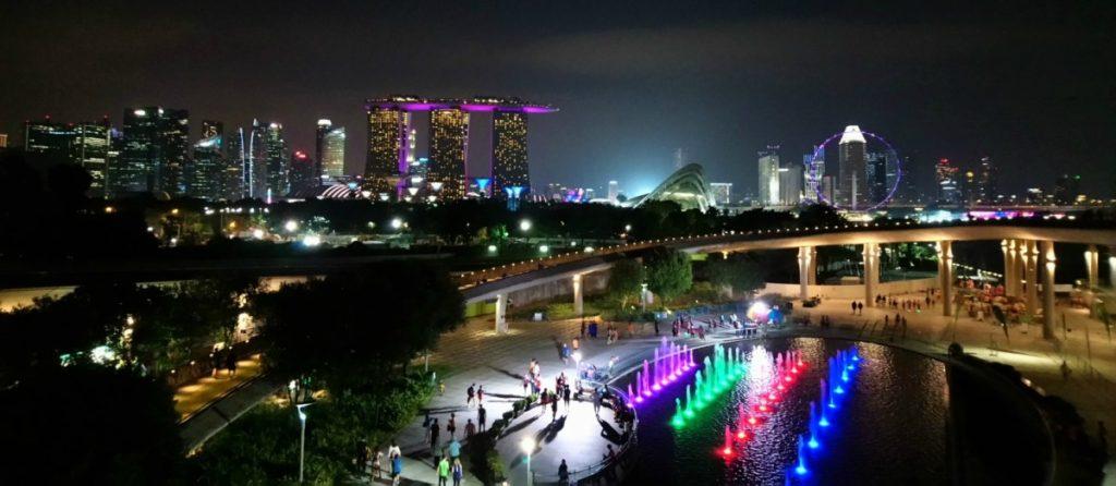 Singapore, Marina Barrage