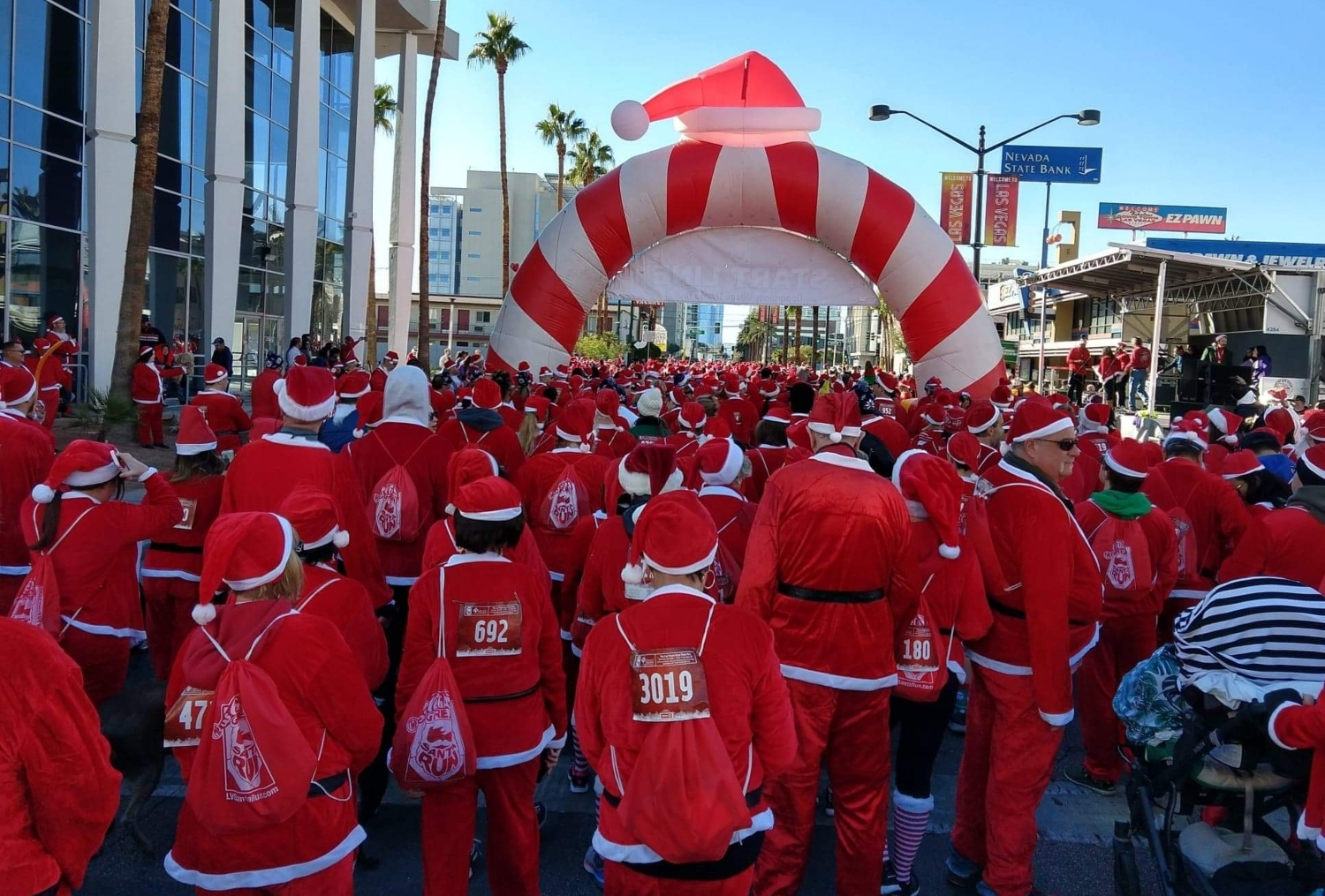 Great Santa Run Las Vegas Start