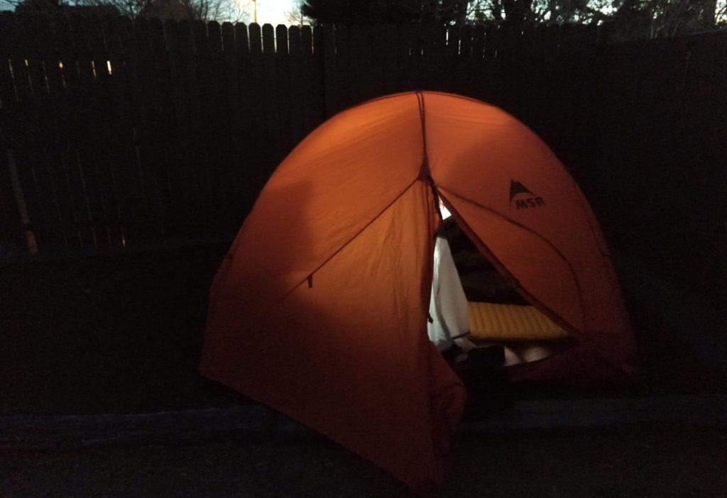 KOA campground in North Albuquerque - MSR access 3