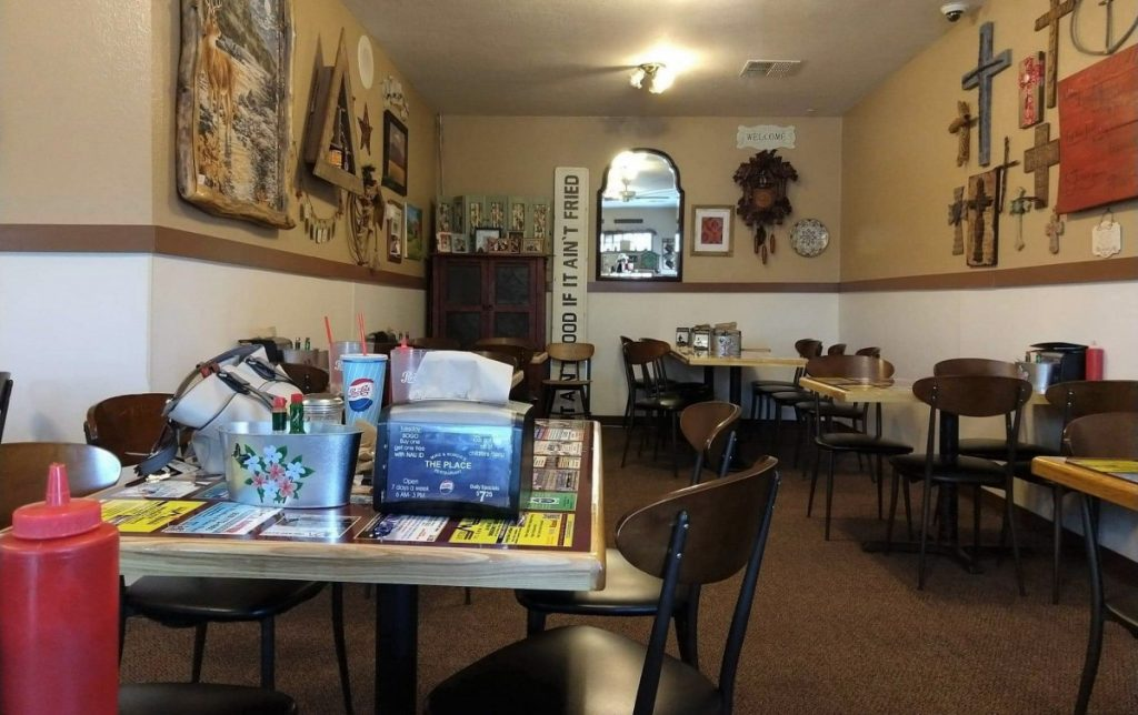 Diner in Flagstaff: Mike and Rhonda's The Place