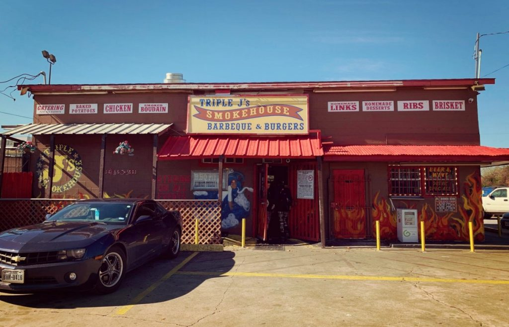 Triple J's Smokehouse, Houston, Texas, Store Front