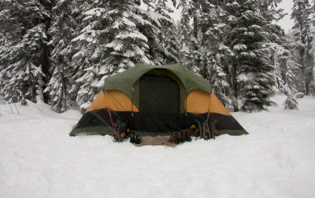 Stay warm and cozy while camping